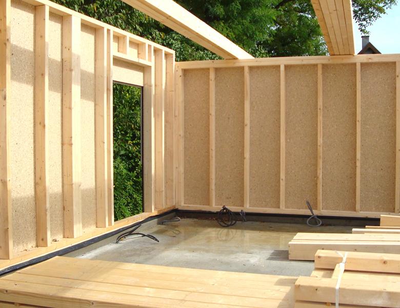 maison préfabriquée en bois