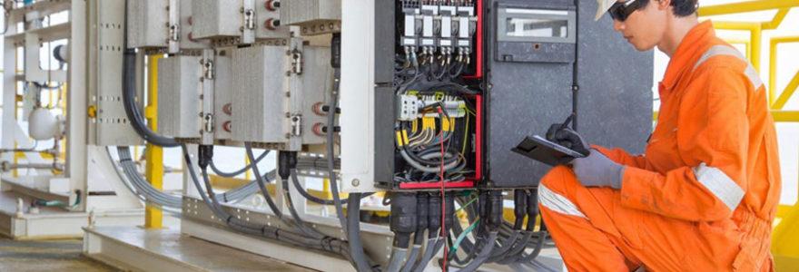 Achat de matériel électrique industriel